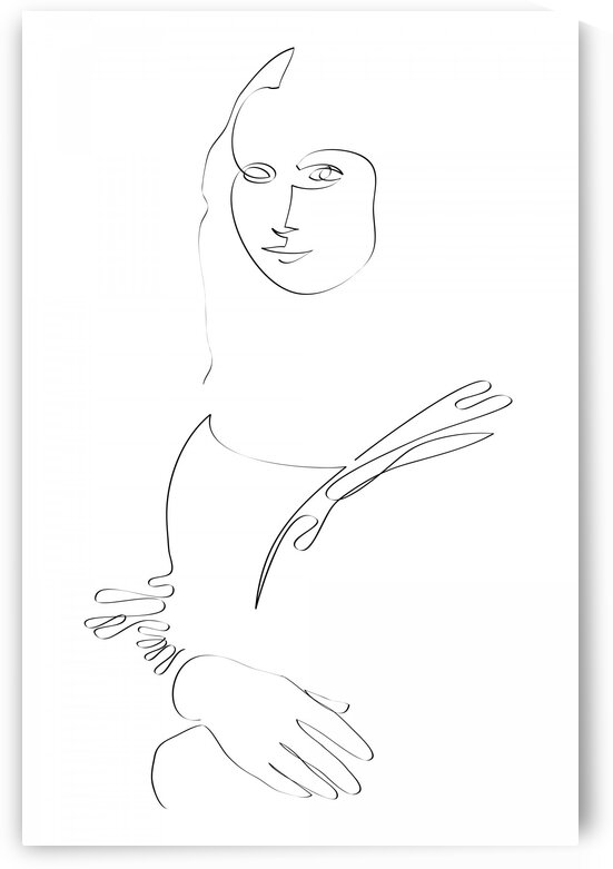 Mona Lisa II by Aquamarine