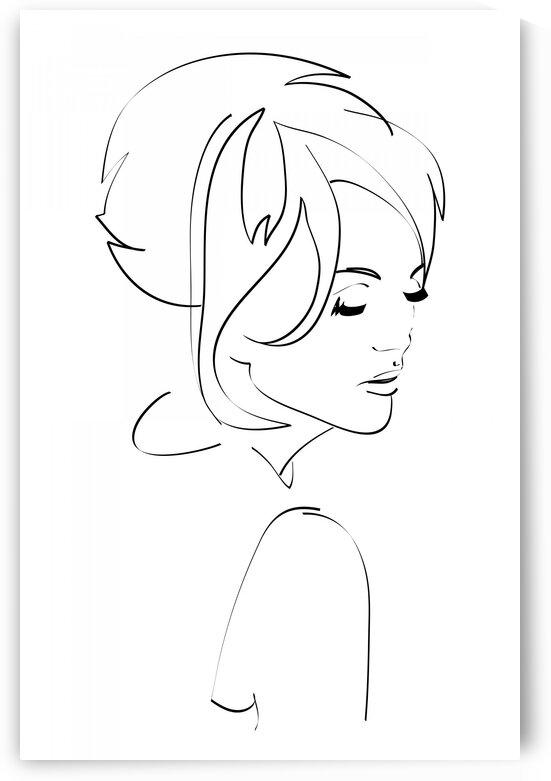 fashion woman III by Aquamarine