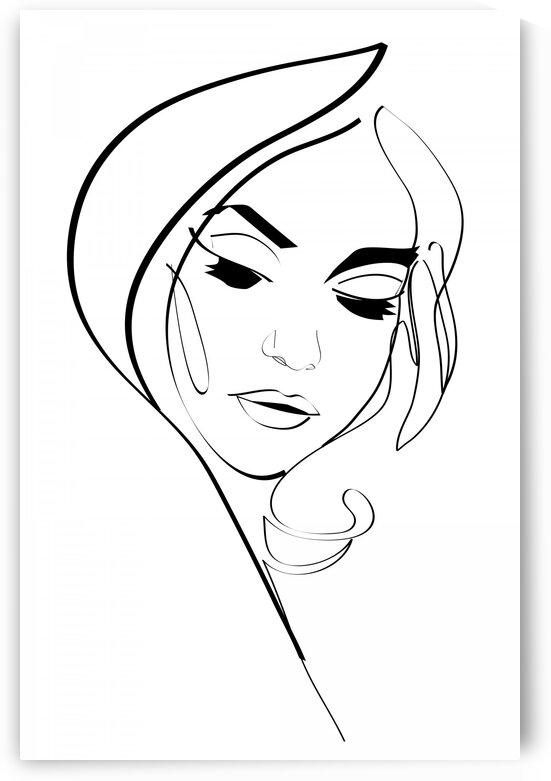 Woman IV by Aquamarine