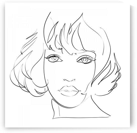 Girls portrait II by Aquamarine