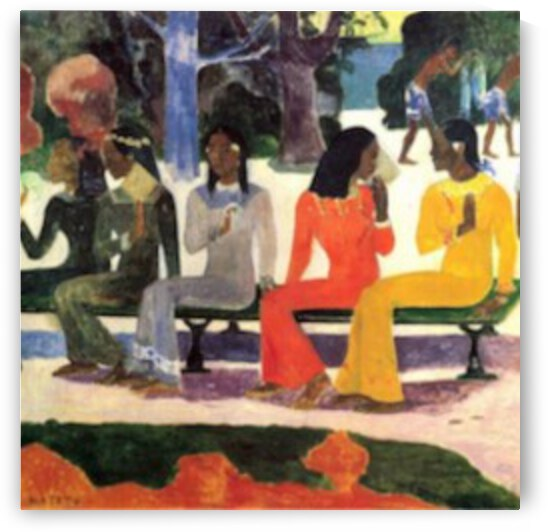 Ta Matete by Gauguin by Gauguin