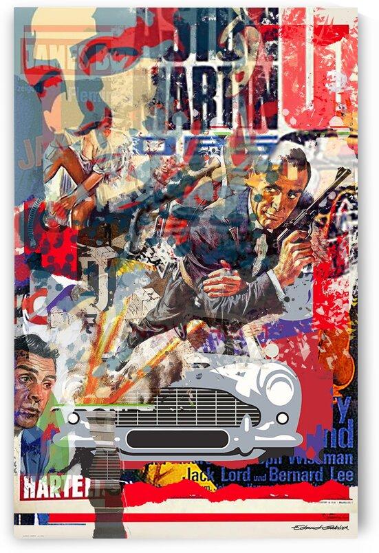 Street art Bond 1  by Edmond Garnier