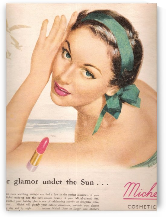 Glamour under the sun by VINTAGE POSTER