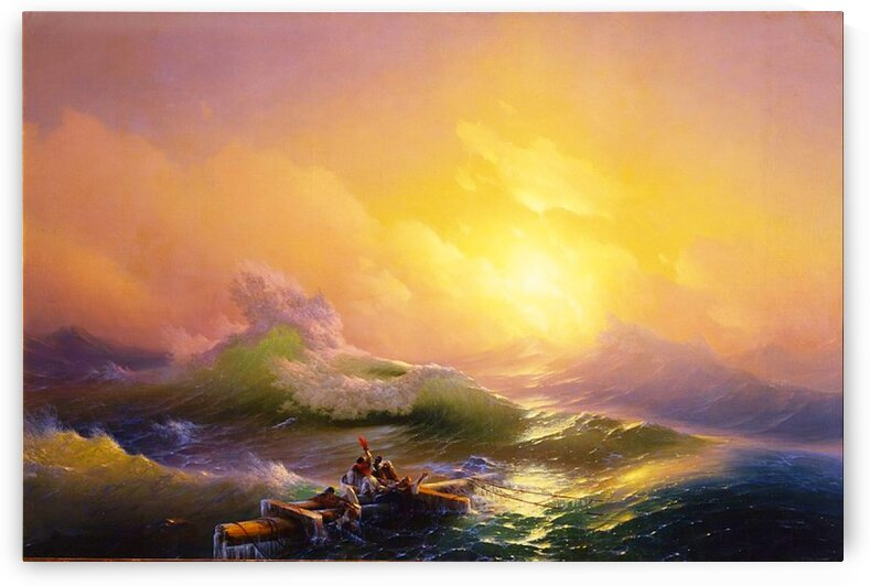 Ivan Aivazovsky: The Ninth Wave - HD 300ppi by Stock Photography