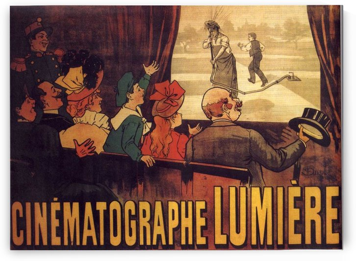 Cinematographe Lumiere by VINTAGE POSTER