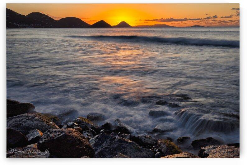 carrotbay sunset longexp AI by Michael Winter Jr Photography