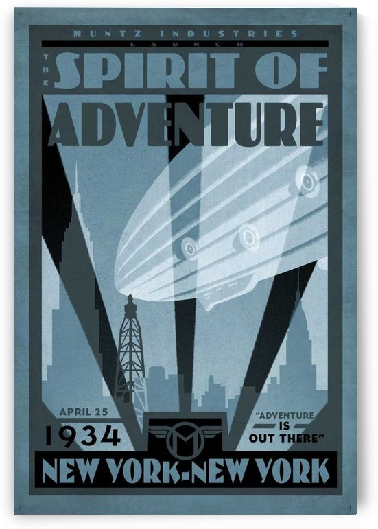 Spirit of Adventure by VINTAGE POSTER