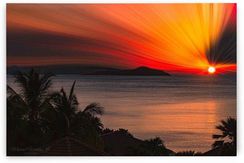 sunset twirl print by Michael Winter Jr Photography