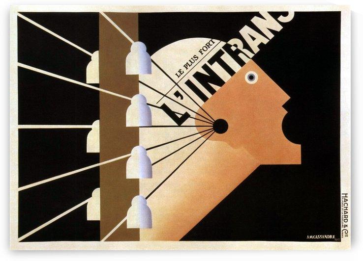 L'Intrans Poster by VINTAGE POSTER