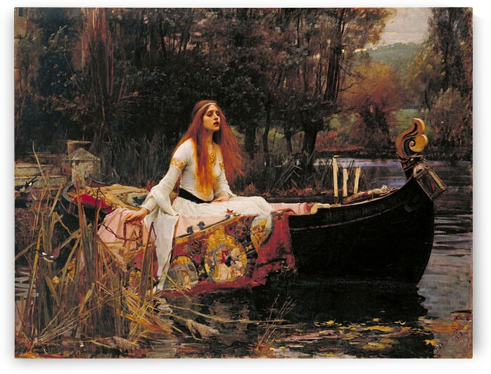 John William Waterhouse :  The Lady of Shalott - HD300ppi by Stock Photography