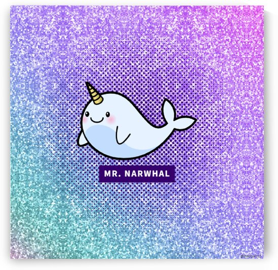 Mr. Narwhal by Bam Wilcox