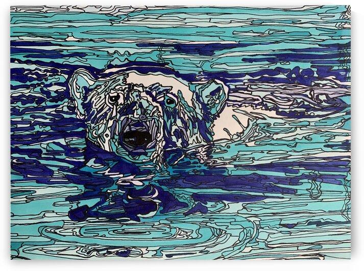 Polar bear by Patricia Kieneker