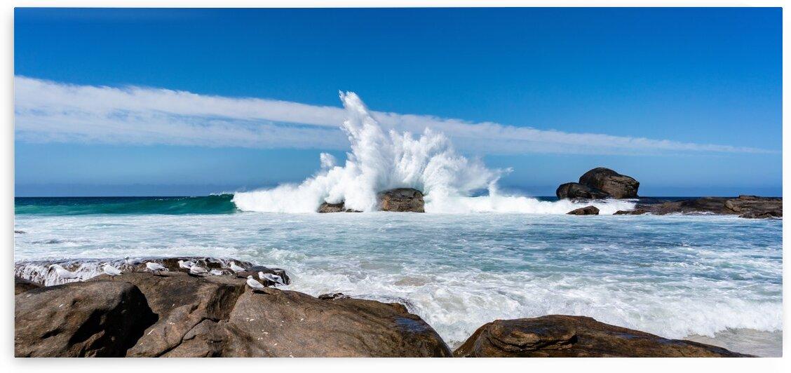 Beach Crash 2 by Contah Photography