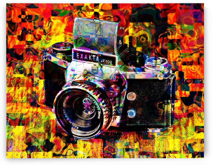 camera illustration  by Jean-Francois Dupuis