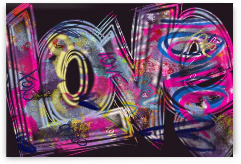 Graffiti Love  by Lisa Shavelson