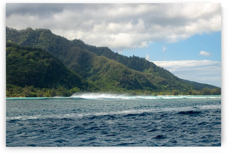 Moorea - where the land meets the sea by Samantha Hemery