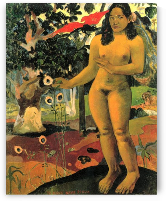Te Nave Nave Fenua by Gauguin by Gauguin