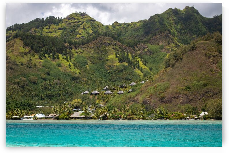 Moorea - from mountain to ocean 2 by Samantha Hemery