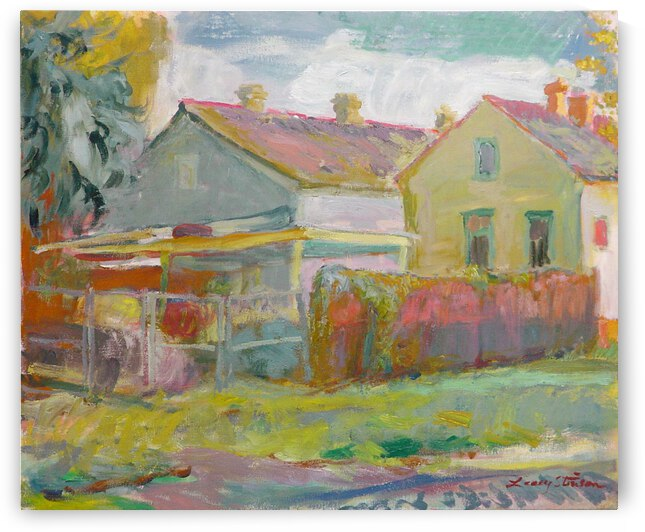 Shotgun House Rears 3 by Lacey Stinson