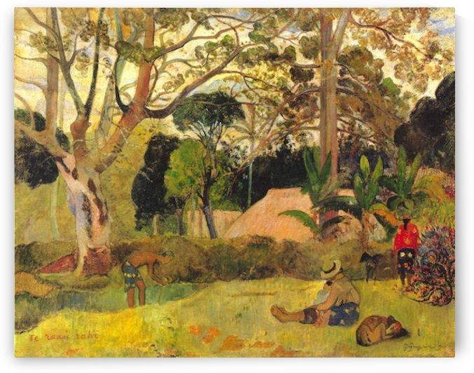 Te Raai Rahi by Gauguin by Gauguin