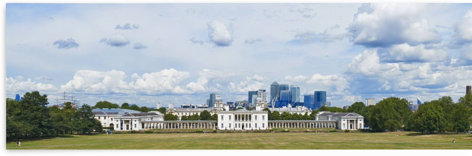 View From Greenwich Park by Adrian Brockwell
