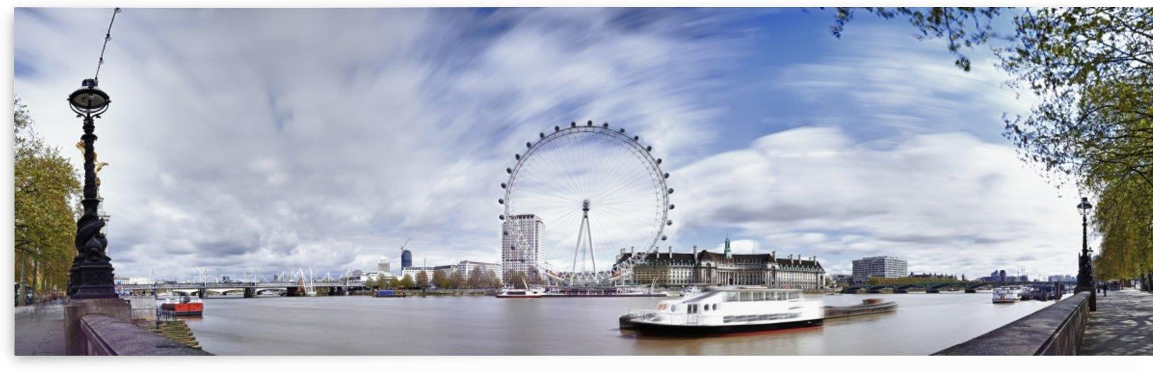 London Eye by Adrian Brockwell