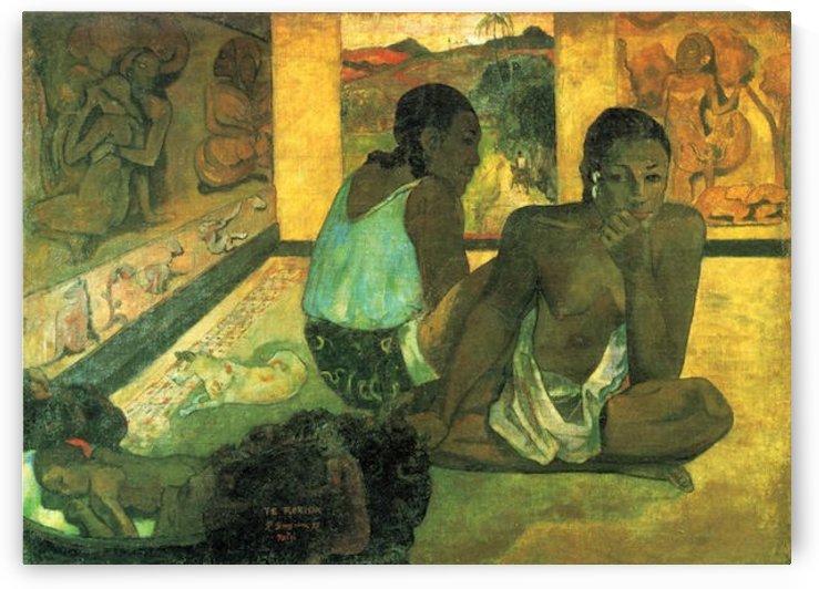 Te Rerioa by Gauguin by Gauguin