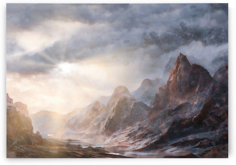 Castle Mountain  Canada by Steven Sandner
