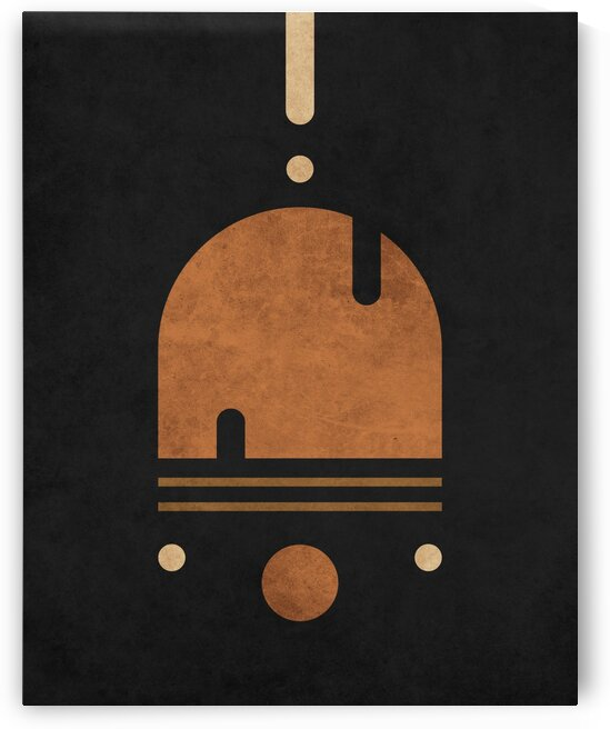 Solo Sailing 1 - Contemporary Minimalist Abstract by Cosmic Soup