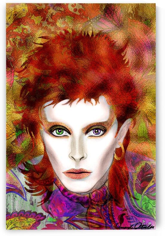 Psychedelic Bowie by Amanda Atsalis