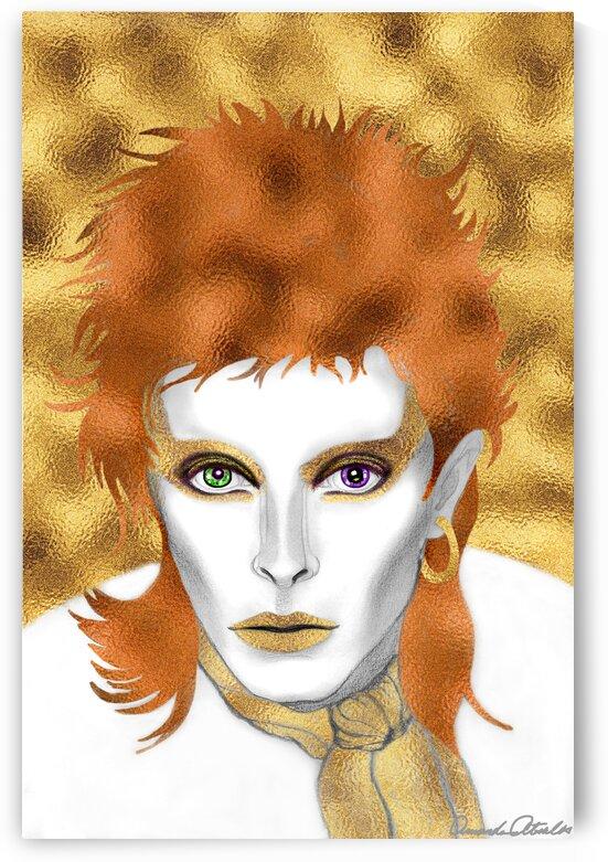 Golden Bowie by Amanda Atsalis