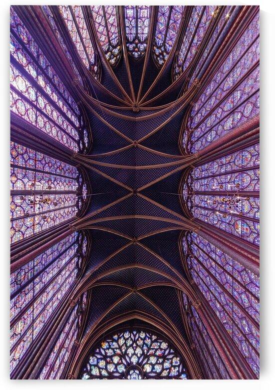 Saint Chapelle Paris France by Golden Art Avenue