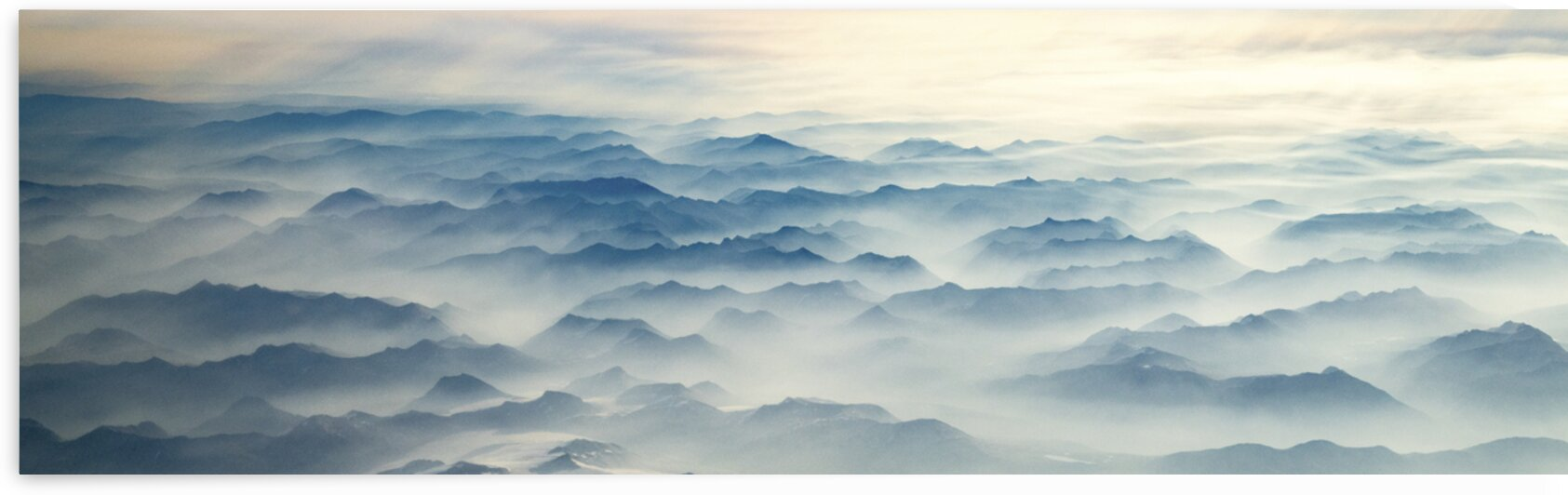 Sea of Mountains  by Julie Anne Davies