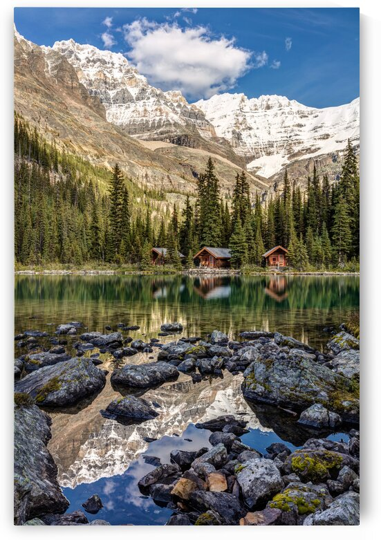 Lake OHara Mountain Lodge by Pierre Leclerc Photography