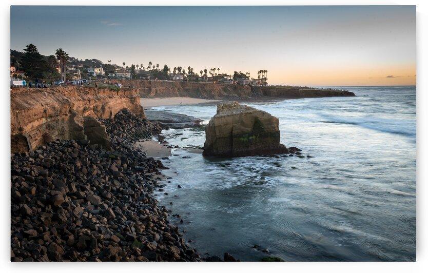 Sunset Cliffs Seastack by Trevor Klatko