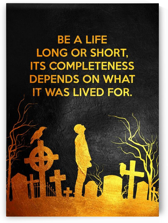 Life Motivational Wall Art by ABConcepts