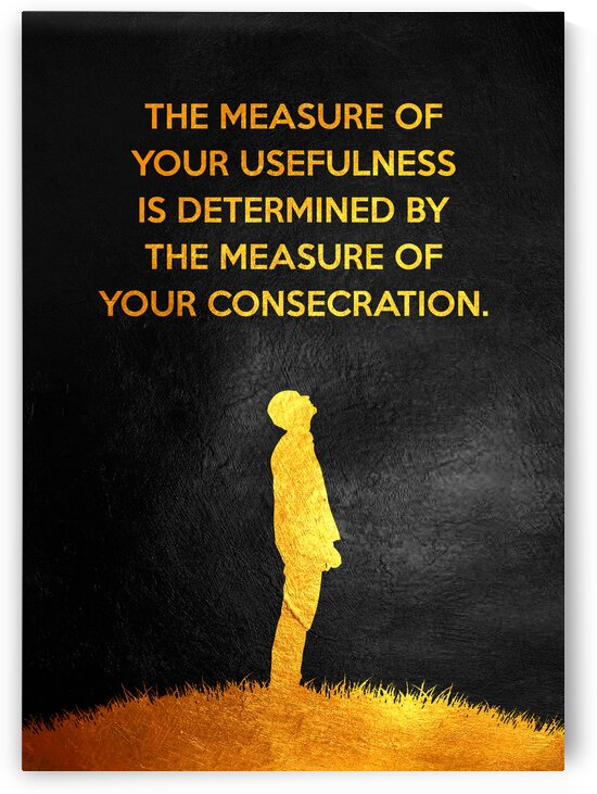 Consecration Motivational Wall Art by ABConcepts