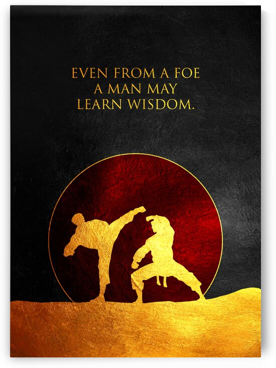 Learn From Everyone Motivational Wall Art by ABConcepts