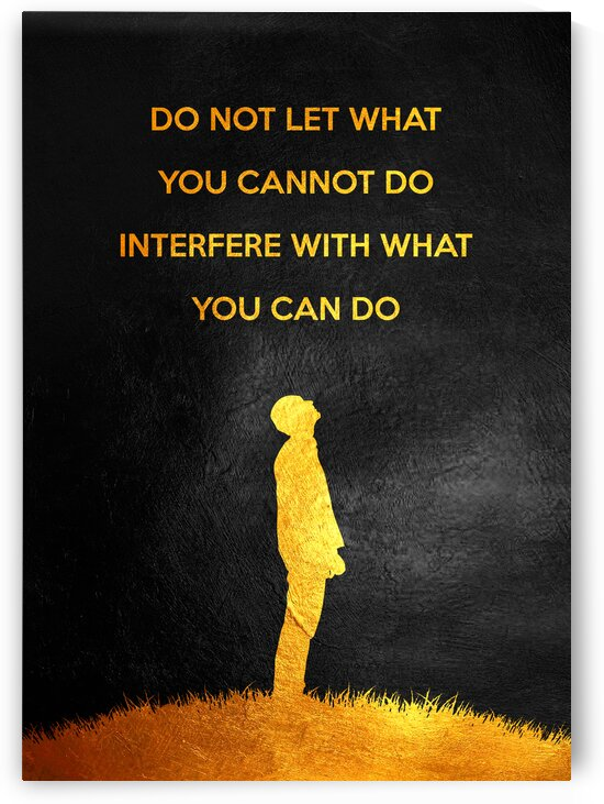 What You Can Do Motivational Wall Art by ABConcepts