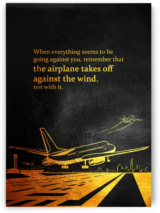Take Off Motivational Wall Art by ABConcepts