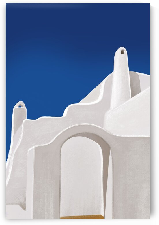 Arches from a Dream - Santorini  Greece by Cosmic Soup