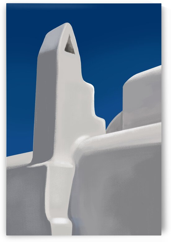 A Tranquil Reverie - Santorini - Greece by Cosmic Soup
