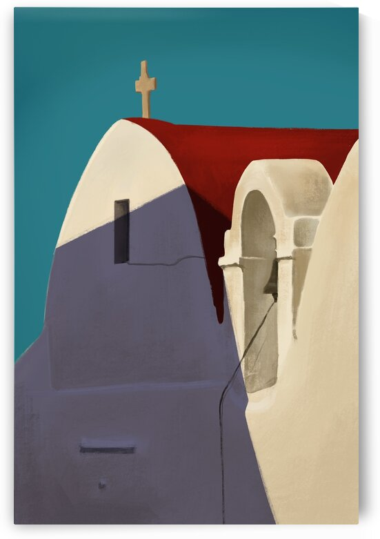 Old Church - Santorini - Greece by Cosmic Soup