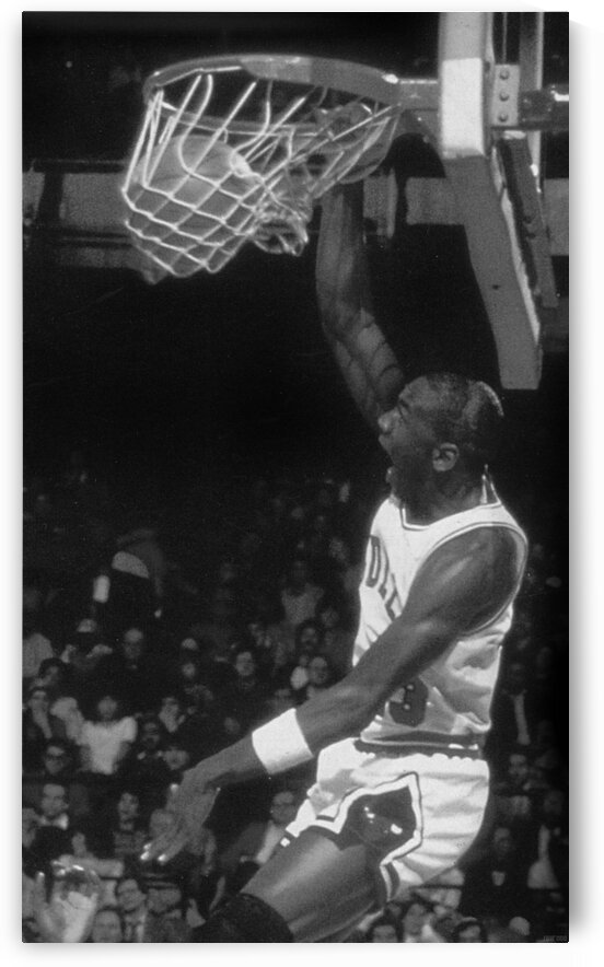 Michael Jordan Dunk Poster by Row One Brand