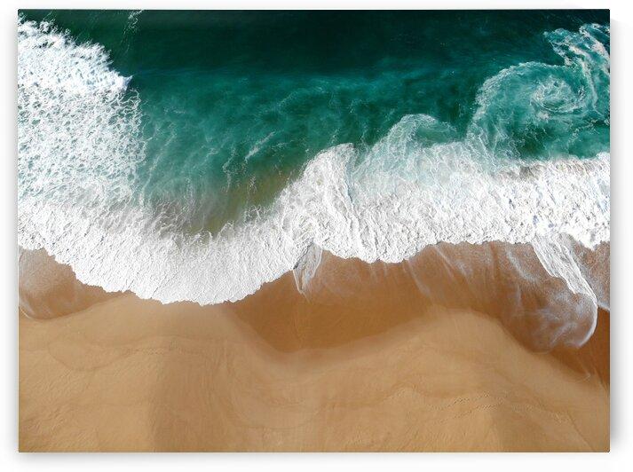 Waves - Atlantic ocean by Anita Varga