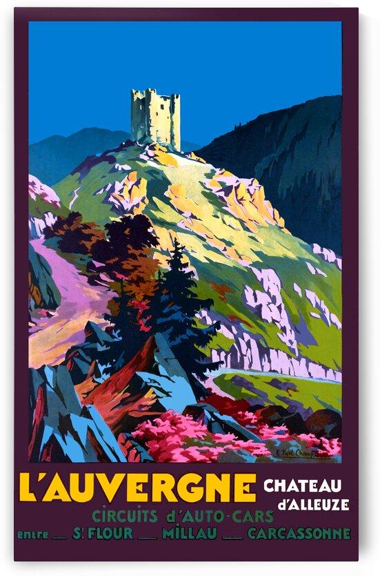 L Auvergne Chateau d Alleuze by vintagesupreme