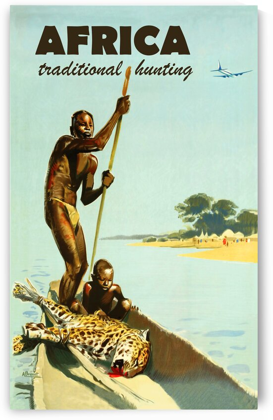 Traditional Hunting in Africa by vintagesupreme