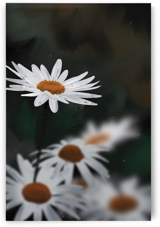 Daisies from a Dream 2 by Cosmic Soup