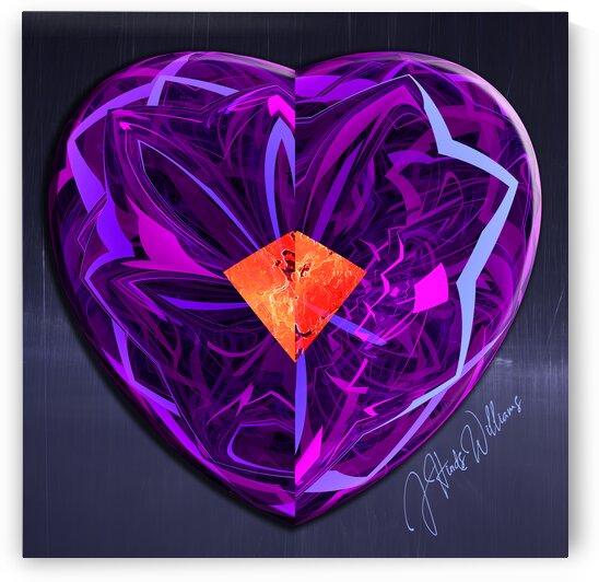 Purple Heart by Derbyshire Hearts