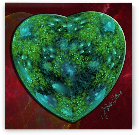 Woodland Heart by Derbyshire Hearts